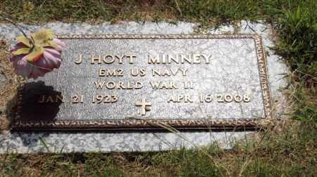 MINNEY (VETERAN WWII), J. HOYT - Garland County, Arkansas | J. HOYT MINNEY (VETERAN WWII) - Arkansas Gravestone Photos