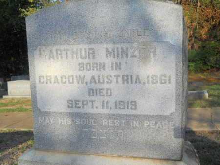 MINZER, ARTHUR - Garland County, Arkansas | ARTHUR MINZER - Arkansas Gravestone Photos