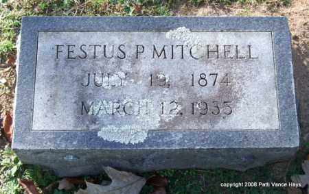 MITCHELL, FESTUS P. - Garland County, Arkansas | FESTUS P. MITCHELL - Arkansas Gravestone Photos
