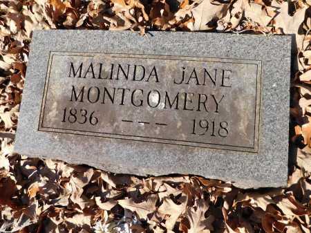 MONTGOMERY, MALINDA JANE - Garland County, Arkansas   MALINDA JANE MONTGOMERY - Arkansas Gravestone Photos