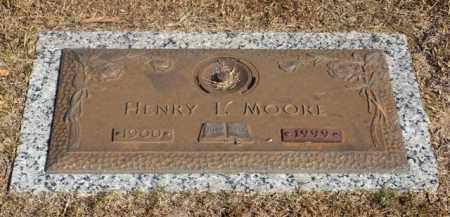 MOORE, HENRY L. - Garland County, Arkansas | HENRY L. MOORE - Arkansas Gravestone Photos