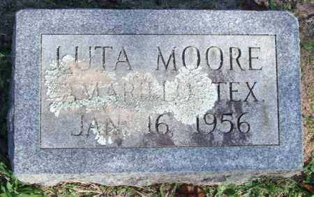 MOORE, LUTA - Garland County, Arkansas | LUTA MOORE - Arkansas Gravestone Photos