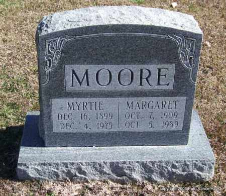 MOORE, MYRTIE - Garland County, Arkansas   MYRTIE MOORE - Arkansas Gravestone Photos