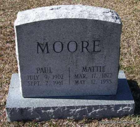 MOORE, PAUL - Garland County, Arkansas | PAUL MOORE - Arkansas Gravestone Photos