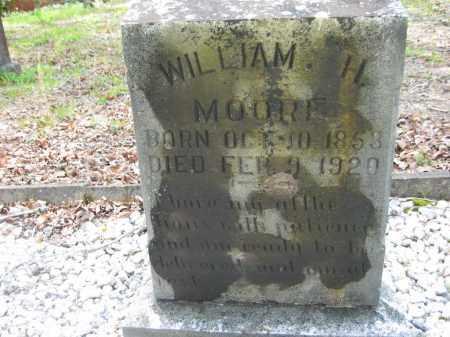 MOORE, WILLIAM H. - Garland County, Arkansas | WILLIAM H. MOORE - Arkansas Gravestone Photos