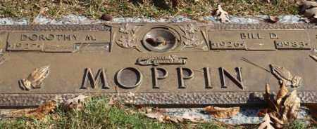 MOPPIN, BILL D - Garland County, Arkansas | BILL D MOPPIN - Arkansas Gravestone Photos