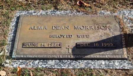 MORRISON, ALMA DEAN - Garland County, Arkansas | ALMA DEAN MORRISON - Arkansas Gravestone Photos