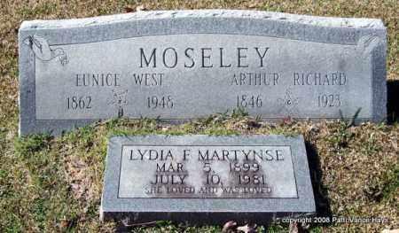MOSELEY, ARTHUR RICHARD - Garland County, Arkansas | ARTHUR RICHARD MOSELEY - Arkansas Gravestone Photos