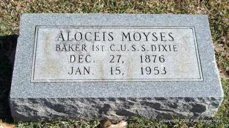 MOYSES (VETERAN), ALOCEIS - Garland County, Arkansas | ALOCEIS MOYSES (VETERAN) - Arkansas Gravestone Photos