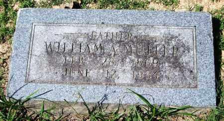 MULLER, WILLIAM A. - Garland County, Arkansas | WILLIAM A. MULLER - Arkansas Gravestone Photos