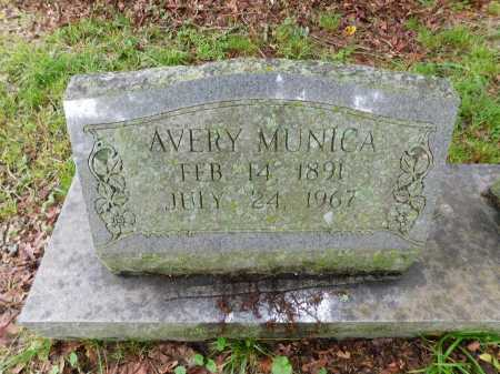 MUNICA, AVERY (CLOSE UP) - Garland County, Arkansas | AVERY (CLOSE UP) MUNICA - Arkansas Gravestone Photos