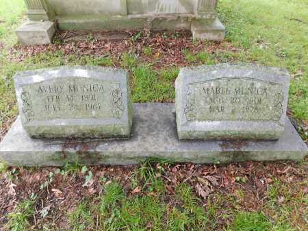 MUNICA, AVERY - Garland County, Arkansas | AVERY MUNICA - Arkansas Gravestone Photos
