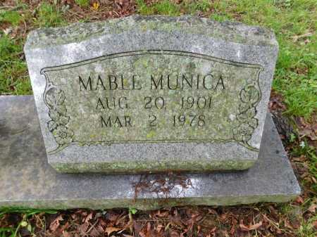 MUNICA, MABLE (CLOSE UP) - Garland County, Arkansas | MABLE (CLOSE UP) MUNICA - Arkansas Gravestone Photos