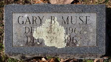 MUSE, GARY B. - Garland County, Arkansas   GARY B. MUSE - Arkansas Gravestone Photos