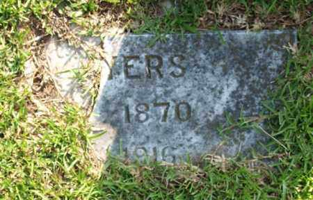 MYERS, C. A. - Garland County, Arkansas   C. A. MYERS - Arkansas Gravestone Photos
