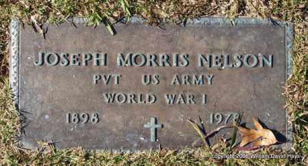 NELSON (VETERAN WWI), JOSEPH MORRIS - Garland County, Arkansas | JOSEPH MORRIS NELSON (VETERAN WWI) - Arkansas Gravestone Photos
