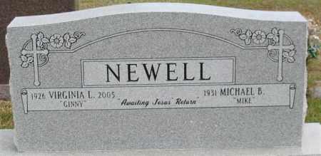 "NEWELL, VIRGINIA L. ""GINNY"" - Garland County, Arkansas | VIRGINIA L. ""GINNY"" NEWELL - Arkansas Gravestone Photos"
