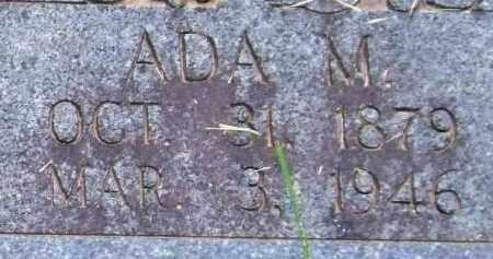 NOBLE, ADA M. - Garland County, Arkansas | ADA M. NOBLE - Arkansas Gravestone Photos
