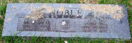 NOBLE, ADA M. - Garland County, Arkansas   ADA M. NOBLE - Arkansas Gravestone Photos