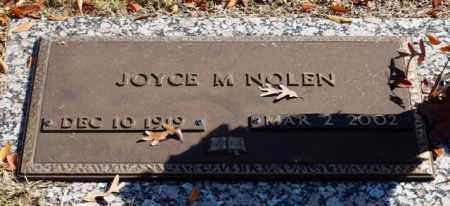 NOLEN, JOYCE M - Garland County, Arkansas | JOYCE M NOLEN - Arkansas Gravestone Photos
