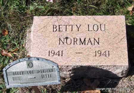 NORMAN, BETTY LOU - Garland County, Arkansas | BETTY LOU NORMAN - Arkansas Gravestone Photos
