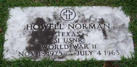 NORMAN (VETERAN WWII), HOWELL - Garland County, Arkansas | HOWELL NORMAN (VETERAN WWII) - Arkansas Gravestone Photos