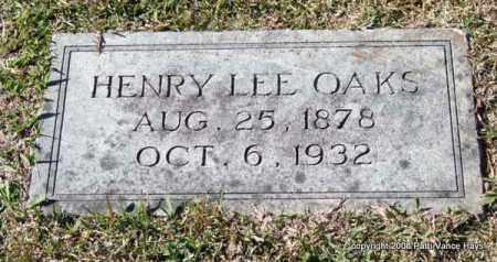 OAKS, HENRY LEE - Garland County, Arkansas   HENRY LEE OAKS - Arkansas Gravestone Photos