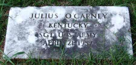 O'CARNEY (VETERAN), JULIUS - Garland County, Arkansas | JULIUS O'CARNEY (VETERAN) - Arkansas Gravestone Photos