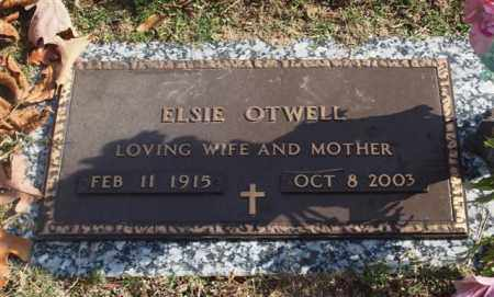 OTWELL, ELSIE - Garland County, Arkansas | ELSIE OTWELL - Arkansas Gravestone Photos