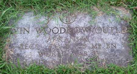 OUTLER (VETERAN WWII), IRVIN WOODROW - Garland County, Arkansas | IRVIN WOODROW OUTLER (VETERAN WWII) - Arkansas Gravestone Photos