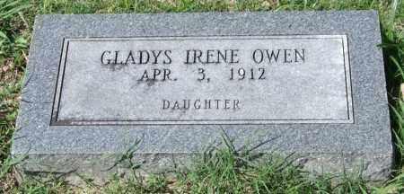 OWEN, GLADYS IRENE - Garland County, Arkansas   GLADYS IRENE OWEN - Arkansas Gravestone Photos