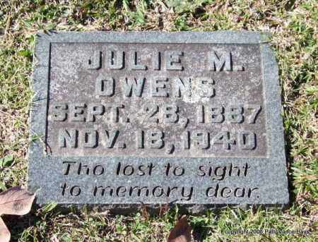 OWENS, JULIE M. - Garland County, Arkansas   JULIE M. OWENS - Arkansas Gravestone Photos