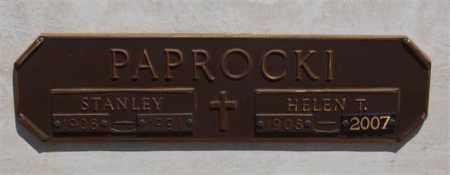 PAPROCKI, HELEN T - Garland County, Arkansas | HELEN T PAPROCKI - Arkansas Gravestone Photos