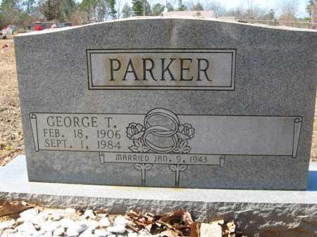 PARKER, GEORGE T. - Garland County, Arkansas | GEORGE T. PARKER - Arkansas Gravestone Photos
