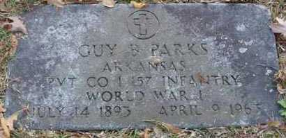 PARKS  (VETERAN WWI), GUY B - Garland County, Arkansas | GUY B PARKS  (VETERAN WWI) - Arkansas Gravestone Photos