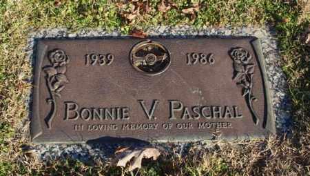 MASSEY PASCHAL, BONNIE V. - Garland County, Arkansas | BONNIE V. MASSEY PASCHAL - Arkansas Gravestone Photos