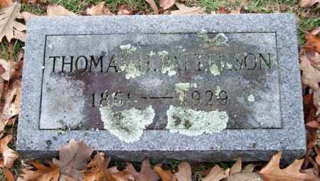 PATTERSON, THOMAS H. - Garland County, Arkansas | THOMAS H. PATTERSON - Arkansas Gravestone Photos