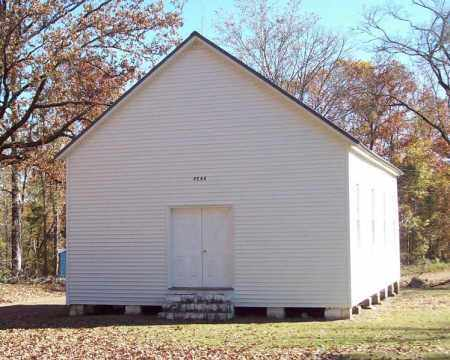 *PEAK CEMETERY, CHAPEL - Garland County, Arkansas   CHAPEL *PEAK CEMETERY - Arkansas Gravestone Photos