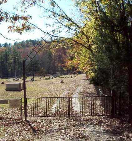 *PEAK CEMETERY, GATE - Garland County, Arkansas   GATE *PEAK CEMETERY - Arkansas Gravestone Photos
