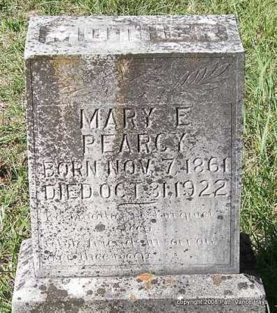 "PEARCY, MARY E. ""MOLLY"" - Garland County, Arkansas 
