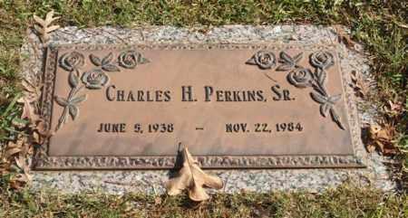 PERKINS, SR., CHARLES H. - Garland County, Arkansas   CHARLES H. PERKINS, SR. - Arkansas Gravestone Photos