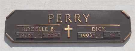 PERRY, DICK - Garland County, Arkansas | DICK PERRY - Arkansas Gravestone Photos