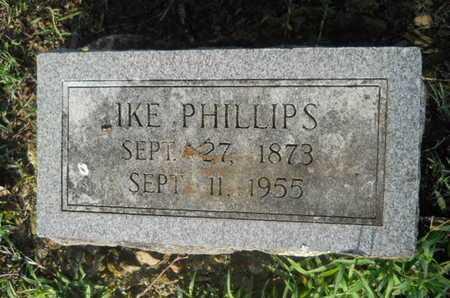 PHILLIPS, IKE - Garland County, Arkansas   IKE PHILLIPS - Arkansas Gravestone Photos