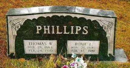 ALLEN PHILLIPS, ROXIE LORENE - Garland County, Arkansas | ROXIE LORENE ALLEN PHILLIPS - Arkansas Gravestone Photos