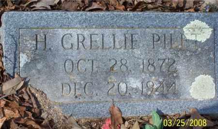 PILET, H. GRELLIE - Garland County, Arkansas   H. GRELLIE PILET - Arkansas Gravestone Photos