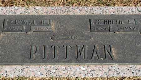 HONEY PITTMAN, CRYSTAL - Garland County, Arkansas | CRYSTAL HONEY PITTMAN - Arkansas Gravestone Photos