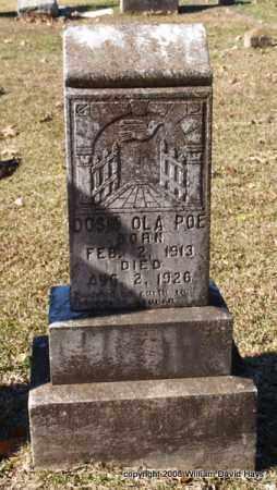 POE, DOSIA OLA - Garland County, Arkansas   DOSIA OLA POE - Arkansas Gravestone Photos