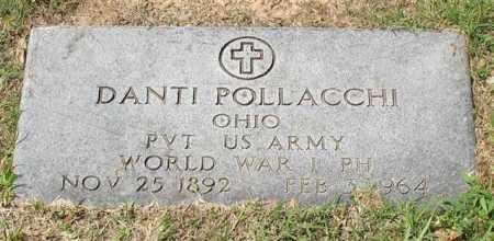 POLLACCHI (VETERAN WWI), DANTI - Garland County, Arkansas | DANTI POLLACCHI (VETERAN WWI) - Arkansas Gravestone Photos