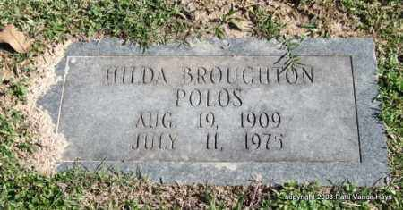 BROUGHTON POLOS, HILDA - Garland County, Arkansas | HILDA BROUGHTON POLOS - Arkansas Gravestone Photos