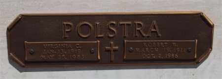 POLSTRA, ROBERT M - Garland County, Arkansas | ROBERT M POLSTRA - Arkansas Gravestone Photos